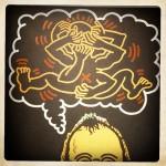 #paris# Keith Haring, le 104 et les quais …