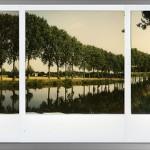 Triptyque, panorama en polaroid …